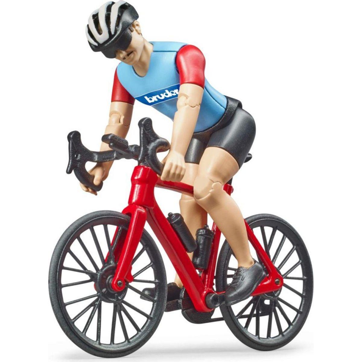 Bruder Silniční kolo s cyklistou