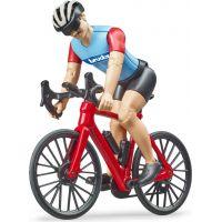 Bruder 63110 Cestný bicykel s cyklistom