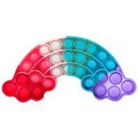 Bubble Pop It Praskající bubliny antistresová spol. hra tvary duha