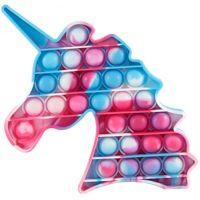 Bubble Pop It Praskající bubliny antistresová spol. hra tvary Jednorožec