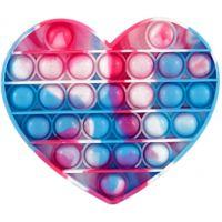 Bubble Pop It Praskající bubliny antistresová spol. hra tvary srdce