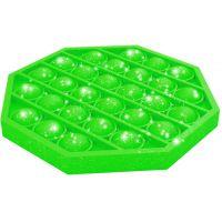 Bubble Pop It Praskajúce bubliny antistresová spoločenská hra zelená