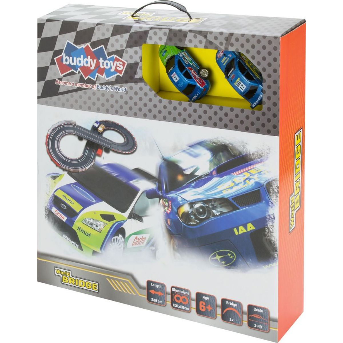 Buddy toys Autodráha Bridge