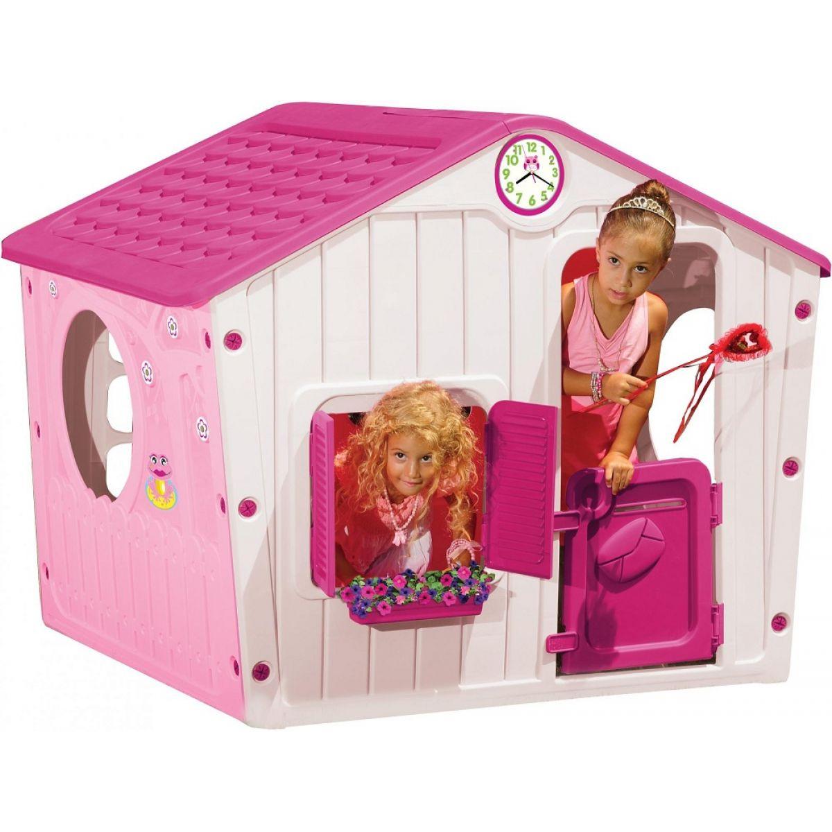 Buddy Toys Domeček Village růžový