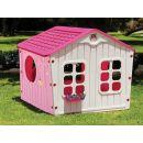 Buddy Toys Domeček Village růžový 2