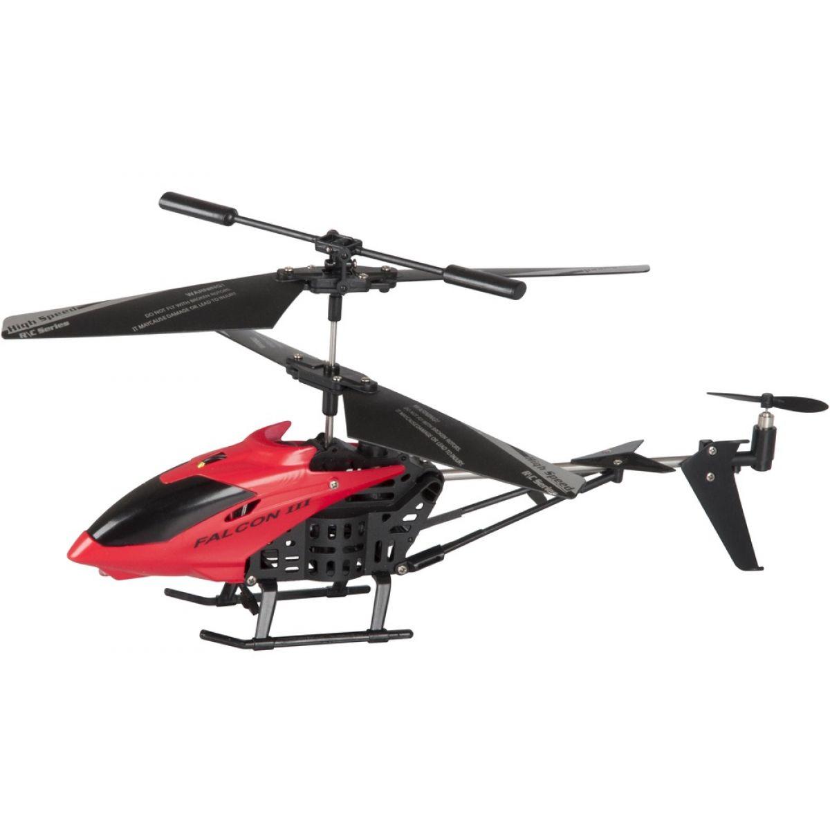 Buddy Toys RC Vrtulník Falcon III červená