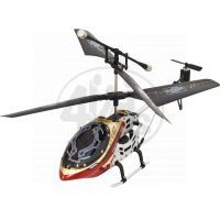 Buddy toys RC Vrtulník Falcon 19 cm Červený