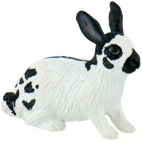 Bullyland Bíločerný zajíc