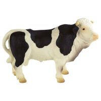 Bullyland 2062607 Černobílý býk