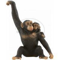 Bullyland 63594 Šimpanzice s mládětem