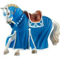 Bullyland Turnajový kůň modý