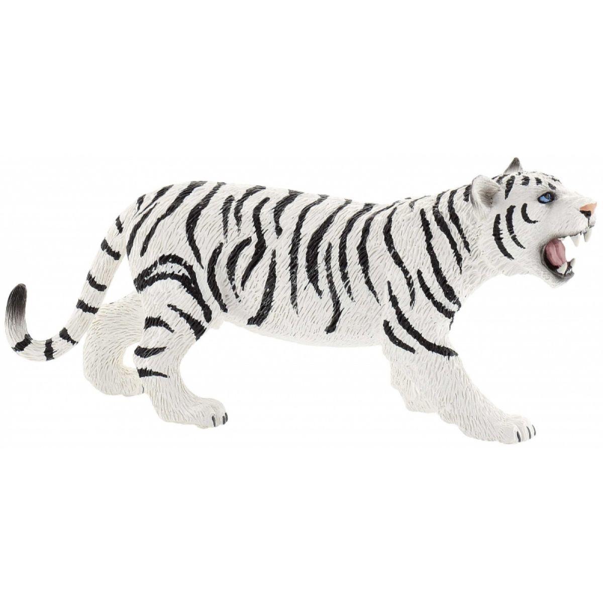 Bullyland 63687 Tygr bílý
