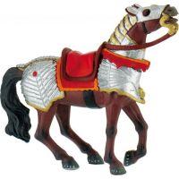 Bullyland Válečný kůň červený