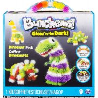 Spin Master Bunchems Glown The Dark - Dinosaur pack