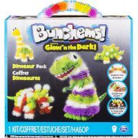 Spin Master Bunchems Glow'n The Dark - Dinosaur pack