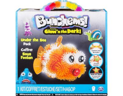 Spin Master Bunchems Glown The Dark - Under The Sea