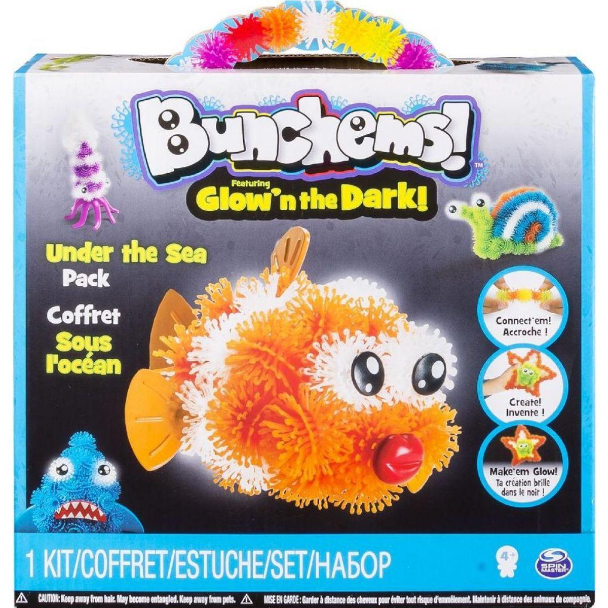 Spin Master Bunchems Glown The Dark - Under The Sea