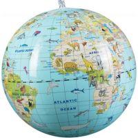 Caly Nafukovací globus Zvířata 30 cm 2