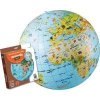 Caly Nafukovací globus Zvířata 50 cm 2