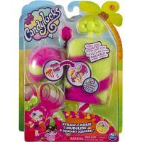 Candylocks voňavé panenka se zvířátkem Straw-Carrie Mudslide a Squeaky Squirrel