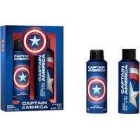 EP Line Captain America tělový sprej 200 ml a sprchový gel 250 ml