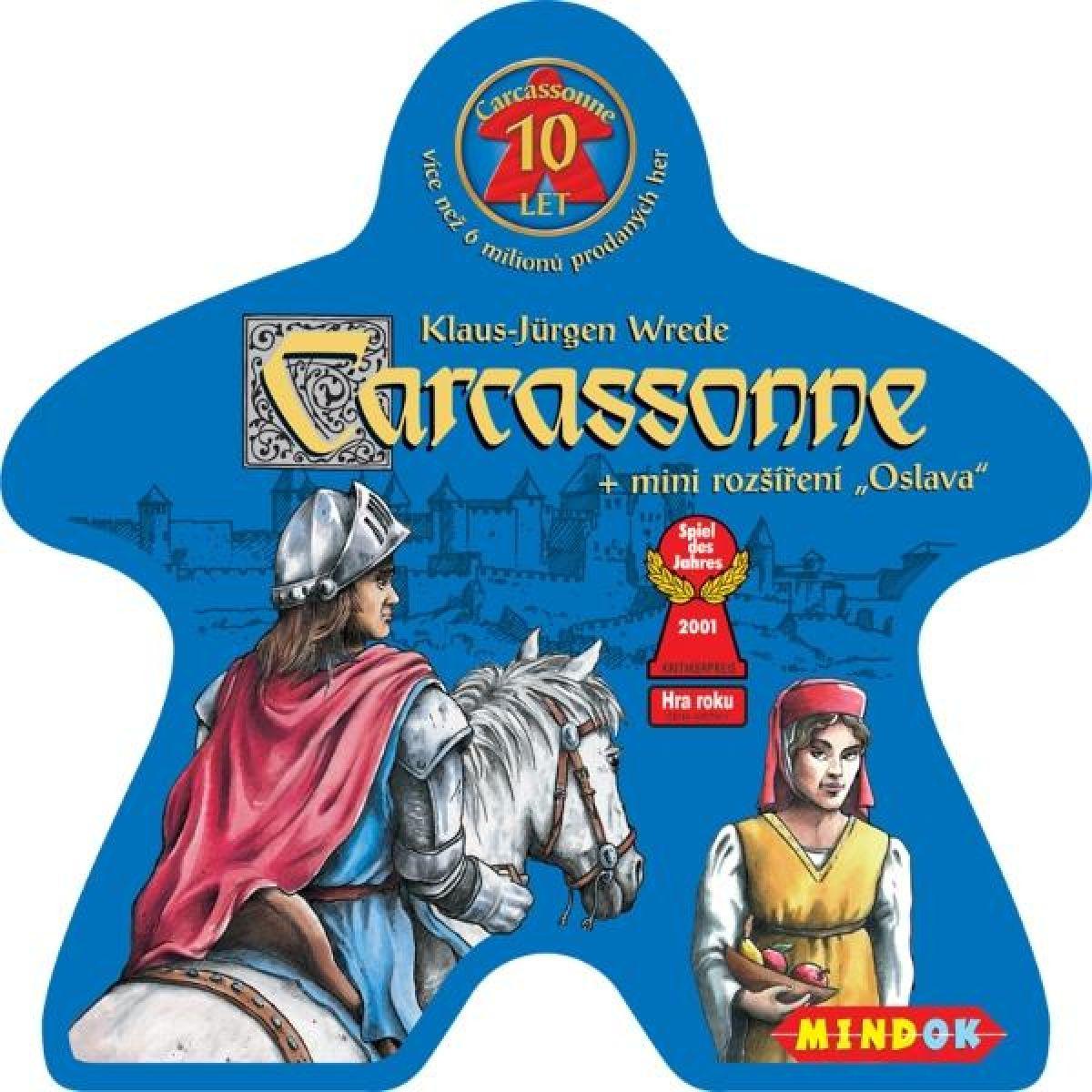 Carcassonne jubilejní edice 10 let - POŠKOZENÝ OBAL