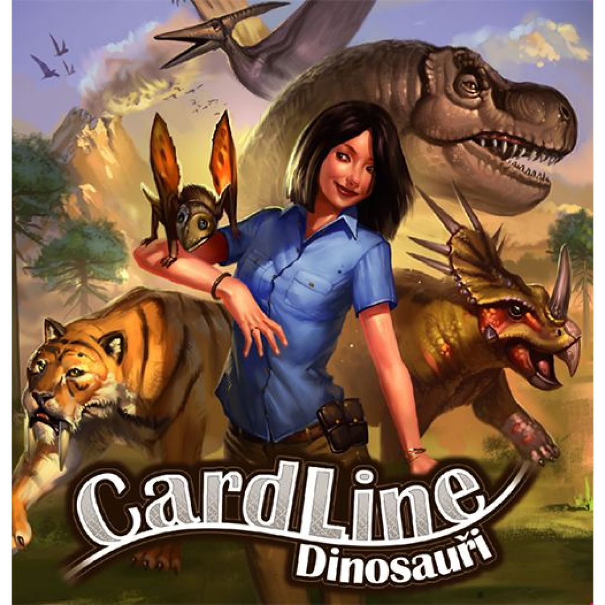 REXhry Cardline Dinosaury