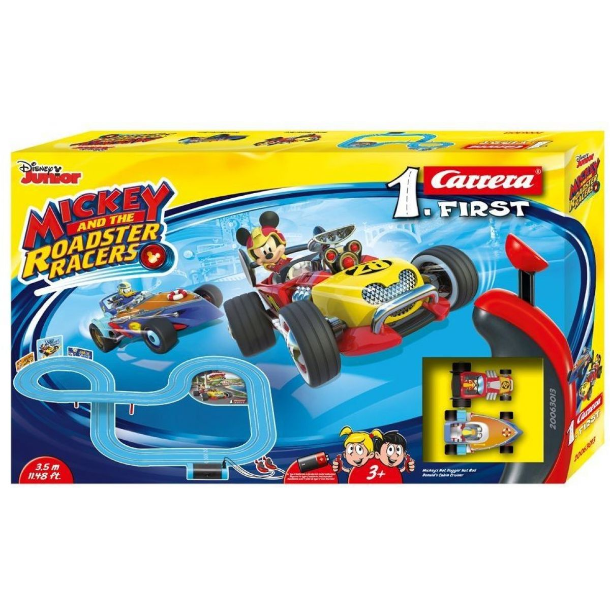 Carrera First Disney autodráha 63013 Mickey Racers