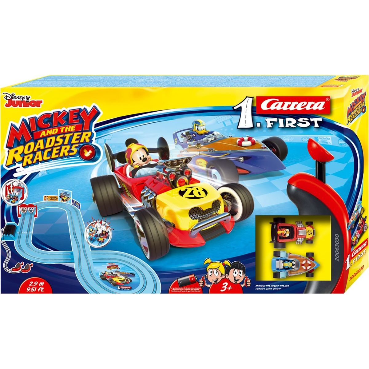 Carrera First Disney autodráha 63030 Mickey Racers