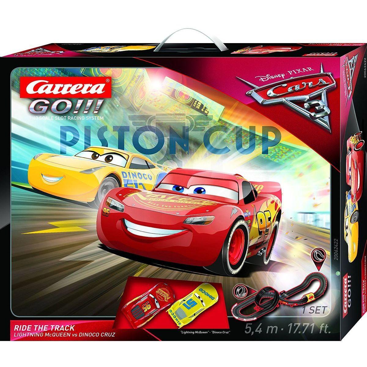 Carrera GO Autodráha Cars 3 Ride Track