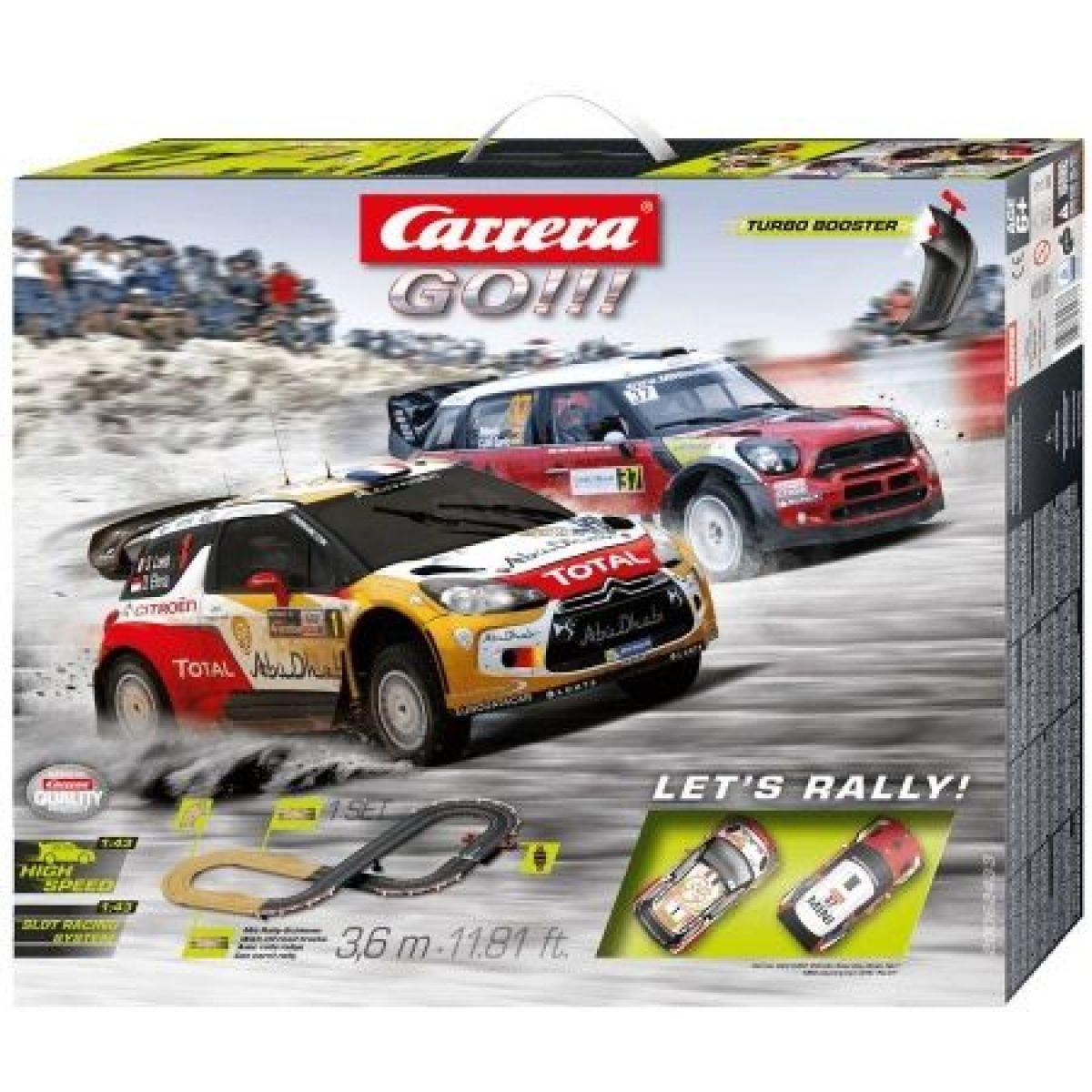 Carrera GO Autodráha Lets Rally