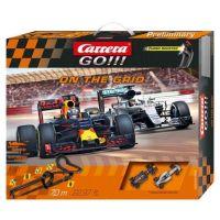 Carrera GO Autodráha 62455 On the grid - Poškozený obal