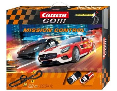 Carrera GO Autodráha 62465 Mission Control - Poškozený obal
