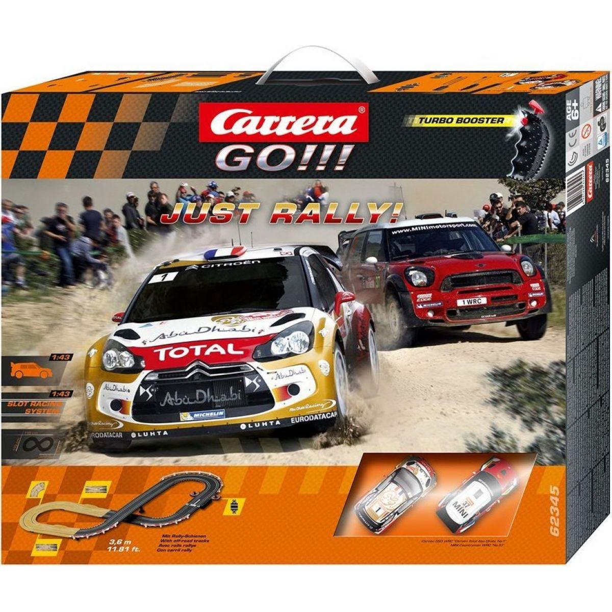 Carrera GO Autodráha Just Rally!