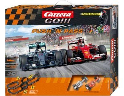 Carrera GO Autodráha Push´n pass