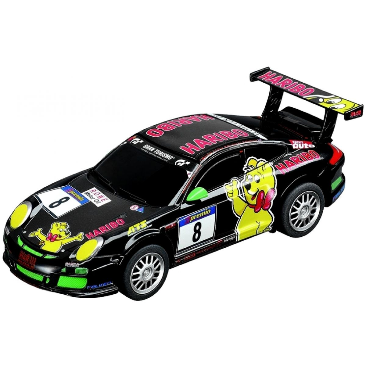 Carrera GO Porsche GT3 Haribo Racing, No.8
