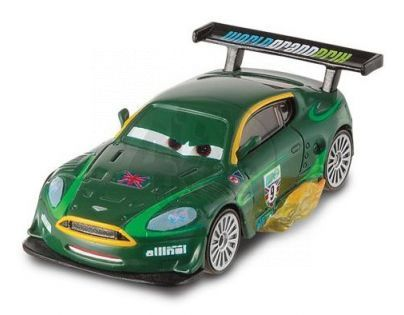 Mattel Cars 2 Auta - Nigel with Flames