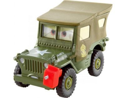 Mattel Cars 2 Auta - Pit crew member Sarge