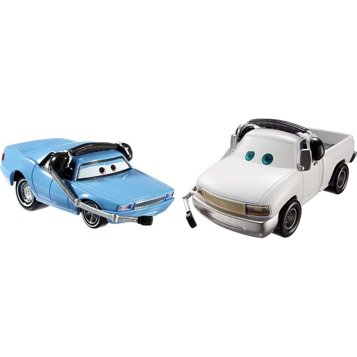 Mattel Cars 2 Autíčka 2ks - Artie a Brian