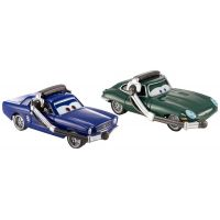 Mattel Cars 2 Autíčka 2ks - Brent MustangBurger a David Hobbscapp