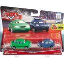 Mattel Cars 2 Autíčka 2ks - Dan Sclarkenberg a Kim Carllins 2