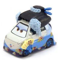 Cars 2 autíčka 2ks Mattel Y0506 - Okuni a Shigeko - Poškozený obal 2