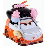 Cars 2 autíčka 2ks Mattel Y0506 - Okuni a Shigeko - Poškozený obal 3