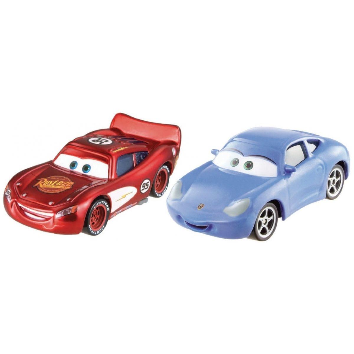 Mattel Cars 2 Autíčka 2ks - Sally a McQueen
