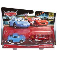 Mattel Cars 2 Autíčka 2ks - Sally a McQueen 2