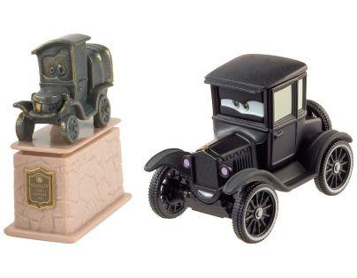 Mattel Cars 2 Autíčka 2ks - Stanley Stasieniek Stanko a Lizzie Gienia