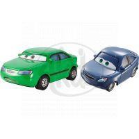 Mattel Cars 2 Autíčka 2ks - Dan Sclarkenberg a Kim Carllins
