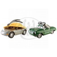 Mattel Cars 2 Autíčka 2ks - Kimberly Rims a Carinne Cavvy