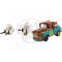 Mattel Cars 2 Autíčka 2ks - Mater s nádržemi allionolu a Tsashimi