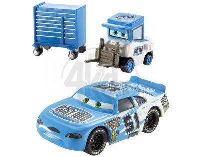 Mattel Cars 2 Autíčka 2ks - Ruby Oaks a Easy Idle Pitty